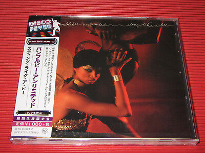 2018 Disco Fever 40 BUMBLEBEE UNLIMITED Sting Like A Bee   JAPAN CD