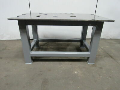"""H.D. 3/4"""" Thick Top Steel Fabrication Layout Welding Table Work Bench 60"""" x 39"""""""