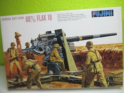 124MB  - Fujimi 76026 - 1:76 - Bausatz German Anti Tank Flak 18 - top in OVP