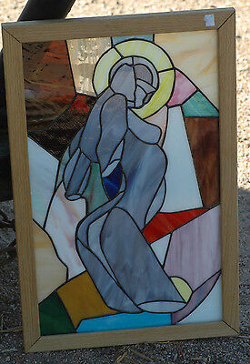 Stained Glass Window Panel Art SEXY ABSTRACT