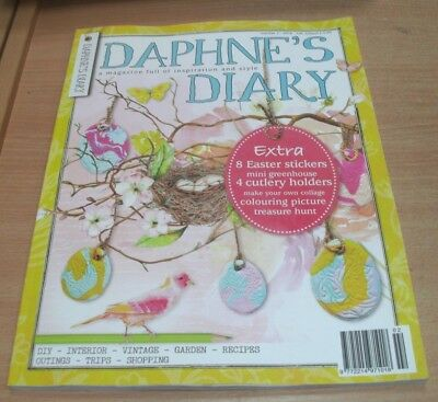 Daphne's Diary magazine #2 2018 DIY Interior Recipes Vintage Outings Shopping &