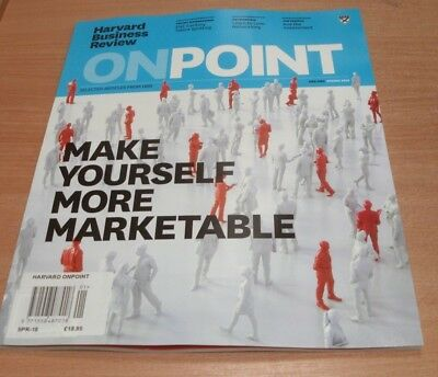 Harvard Business Review OnPoint magazine SPRING 2018 Yourself More Marketable