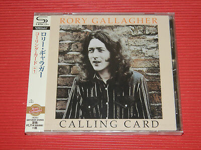 2018 JAPAN SHM CD RORY GALLAGHER Calling Card with Bonus Track