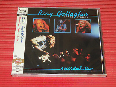 2018 JAPAN SHM CD RORY GALLAGHER Stage Struck  with Bonus Track