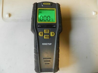 General Tools & Instruments Pin-less Digital Moisture Meter model #MMD7NP