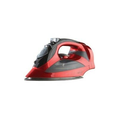 BRENTWOOD APPLIANCES MPI-59R Brentwood Appliances Red Steam Iron with Retract...