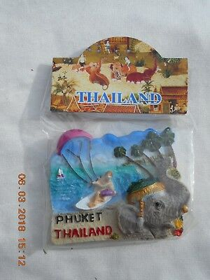 3D Fridge Magnet Phuket (Thailand)   New In Original Packaging  #1