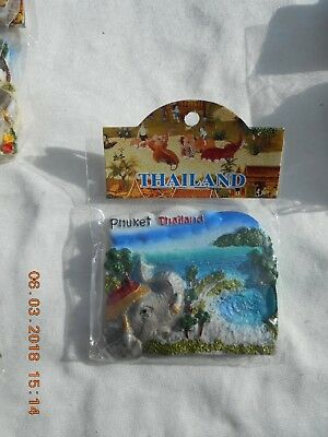 3D Fridge Magnet Phuket (Thailand)   New In Original Packaging  #5