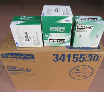 """60 Boxes KC 34155 Kimtech Science Kimwipes, 4.4"""" x 8.4"""" Wipers Case of 60 Boxes"""