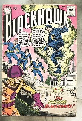 Blackhawk #147-1960 Dick Dillin The Blackhawk Movie Queen...gd