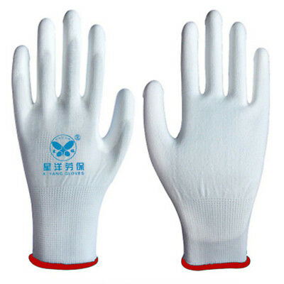 PU Coated Safety Gloves ESD Work Gloves Hand Protection Size S M L