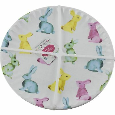 Cottontail Lane Easter Bunny Rabbit Melamine Dinner Plates Set of 6  sc 1 st  PicClick UK & COTTONTAIL LANE EASTER Bunny Rabbit Melamine Dinner Plates Set of 6 ...