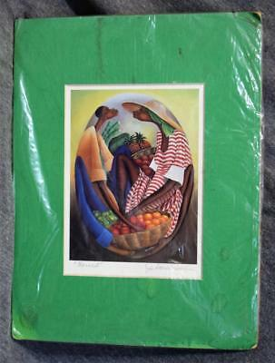 Jacques Saint-Surin Signed Matted Print Harvest