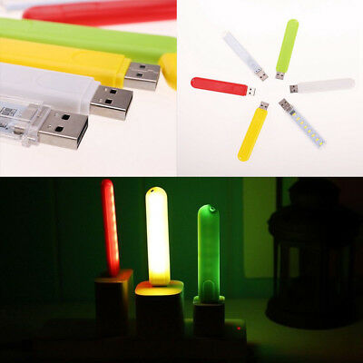Mobile Power USB LED Lamp 8 Leds LED Lamp Lighting Computer Small Night Light