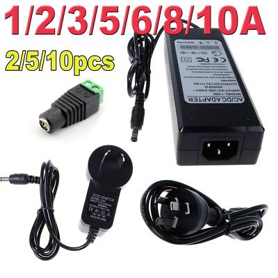 2A 3A 1A 5A 10A 12V Power Supply AC DC Adapter Charger for LED Strip TRANSFORMER