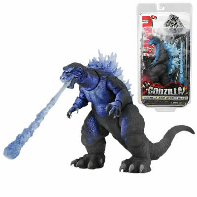 "NECA Blast Godzilla 2001 Movie Classic Flim Action Figure Head-Tail 12"" New Box"