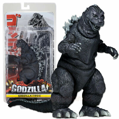"""NECA Monster King Godzilla 1954 Action Figure Collection Play Toy Head-Tail 12"""""""