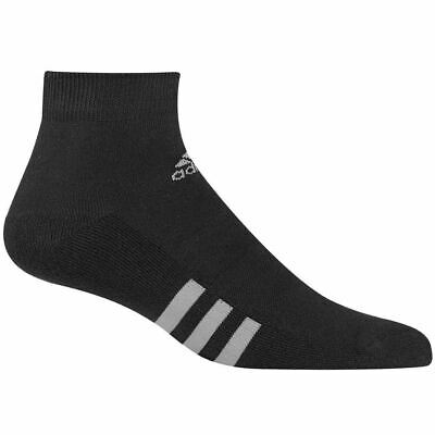 Adidas 2018 3 Stripe Cushioned Lo Cut Golf Ankle Socks / Training Sports/ 3 Pack