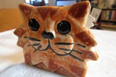 Cheeky Cat & Mouse Toast Rack Made In Wales By Alexander Ceramics
