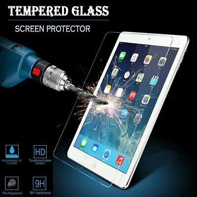 "HD Clear Tempered Glass Screen Protector For  iPad 4th Generation 9.7"" New"