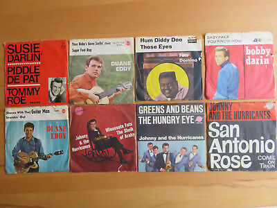 8 Beat - Singles    Duane  Eddy   Johnny & The Hurricanes  Fats Domino + 2