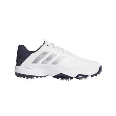 Adidas Men's Adipower Bounce Golf Shoes F33575 - White/Silver/Noble Ink