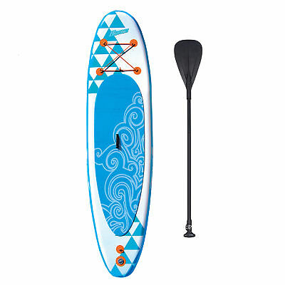 Banzai 10' Inflatable SUP Stand Up Paddle Board Adjustable Paddle & Backpack
