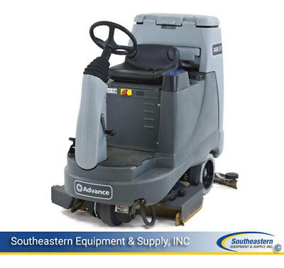 Reconditioned Advance 3400ST Rider Floor Scrubber 34""