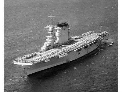 WWII B&W Photo USS Lexington CV-2 in 1938 Battle of the Coral Sea WW2 USN / 7096