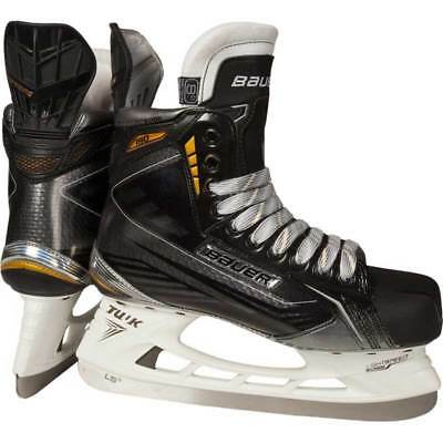 New Bauer Supreme Explosive Power 1048614 Youth 4 D S190 Black Ice Hockey Skates