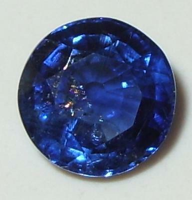 2.74ct Beautiful Top Quality Nepal Blue Kyanite Round Cut 8mm SPECIAL