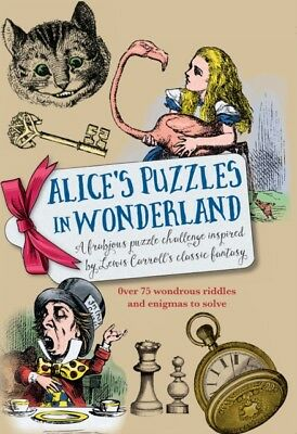 Alice's in Puzzles in Wonderland (Hardcover), Galland, Richard Wo...
