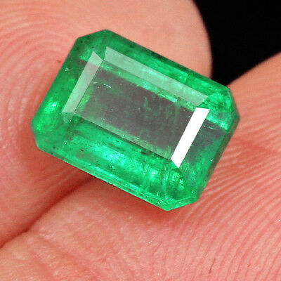 2CT 100% Natural Museum Grade Green Emerald Collection QMD3340