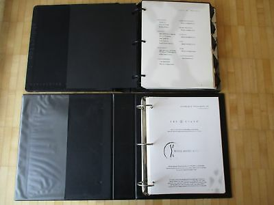 X-Files (Akte X) Style Guide for licensing 2 Binders with Merchandise Guidelines