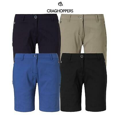 Craghoppers New Womens Kiwi Pro Stretch Shorts Light Smart Casual £26.90 Free PP