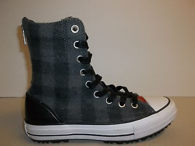 Converse Size 6 CT HI-RISE BOOT Gray Wool Woolrich Boots New Womens Shoes d87c266dd