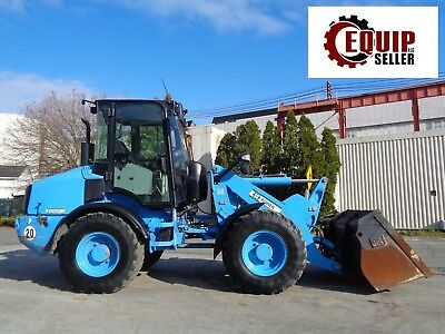 2014 Caterpillar 908H2 Wheel Loader - Enclosed Cab - 4x4 - Hyd Quick Coupler