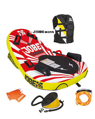 Pack Bouée 1 pers - Jobe Sunray + gilet + gonfleur + corde + flamme