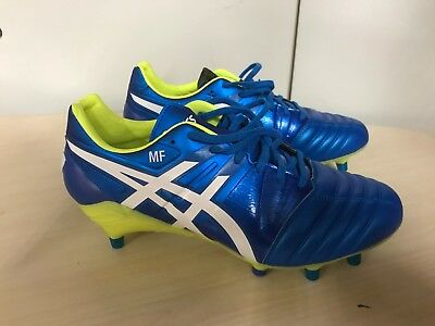 Asics Gel Lethal Tight Five SG Pro Rugby Boots UK 9.5 rrp £130 Blue