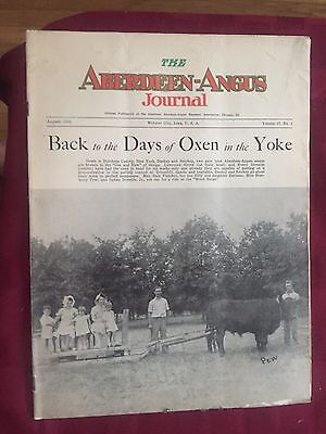 ALL 75 issues of The Aberdeen-Angus Journal that I have listed RARE VINTAGE FARM