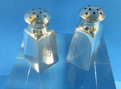 Sterling Silver Wallace Individual Salt and Pepper Shakers  -- Free Shipping *