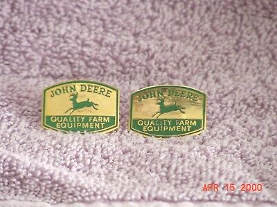 John Deere Quality Farm Equipment Pins (2)