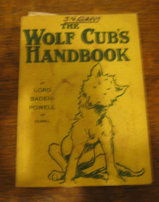 The Wolf Cub Handbook Reprinted 1967 Lord Baden-Powell