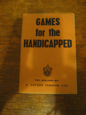 Boy Scouts of UK Games for the Handicapped Ursula Richardson 1956