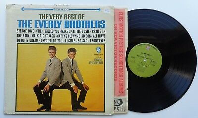 223The Everly BrothersThe Very Best of(ST-91343) US LP green warner bros SALE