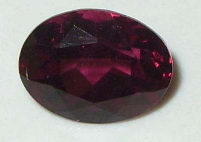 2.46ct BEAUTIFUL COLOR AFRICAN RHODOLITE GARNET OVAL 9x7mm SPECIAL
