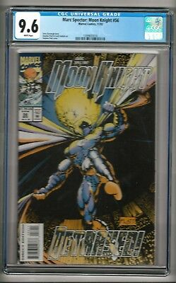 Mark Spector: Moon Knight #56 (1993) CGC 9.6  White Pages  Platt - Kavanagh