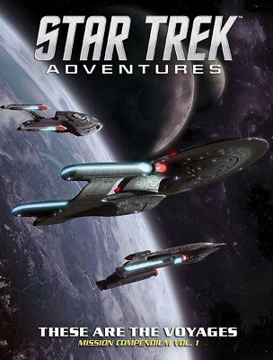 Star Trek Adventures RPG: These are the Voyages Mission Compendium Vol. 1 051062