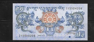 Bhutan 2013 Crisp Mint New Ngultrum Currency Banknote Bill Note Paper Money