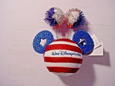 Disney  Patriotic  Mickey Head Antenna topper